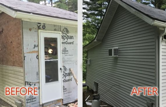 Before and After - Overton Valley Construction Renovations